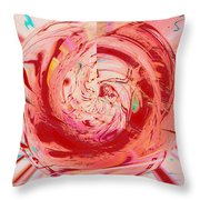 Light Waves Throw Pillow