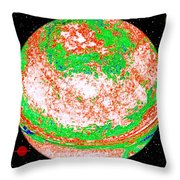 Light Years Away Throw Pillow