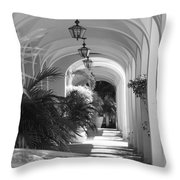 Lighted Arches Throw Pillow