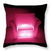 Lighted Chair 3 Throw Pillow
