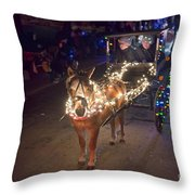 Lighted Pony Throw Pillow