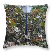 Lighted Trees Throw Pillow