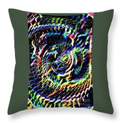 Lightening Fills The Vortex Throw Pillow
