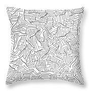 Lightening Throw Pillow