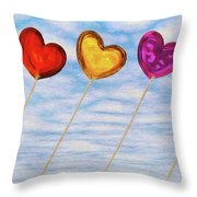Lighter Than Air Throw Pillow