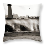 Lighthouse 1 Throw Pillow