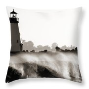 Lighthouse 2 Throw Pillow