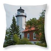Lighthouse 3 Throw Pillow