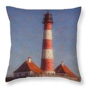 Lighthouse - Id 16217-152035-5938 Throw Pillow
