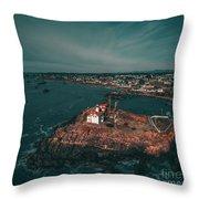Lighthouse IIi Throw Pillow