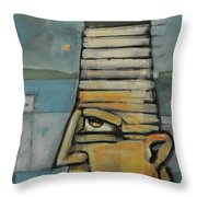 Lighthouse Keeper Throw Pillow