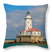 Lighthouse Throw Pillow