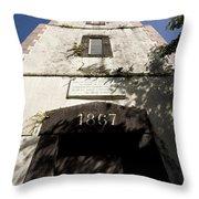 Lighthouse On Point Venus Throw Pillow
