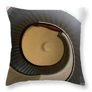 Cabrillo Spiral Staircase Throw Pillow