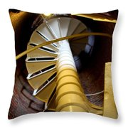 Lighthouse Stairway Throw Pillow