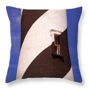 Lighthouse Stripes Throw Pillow