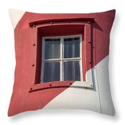 Lighthouse Window Throw Pillow