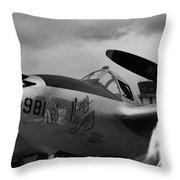 Lighting Ghost Flight Throw Pillow