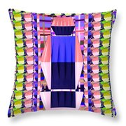 Lighting Illusions Fineart By Navinjoshi At Fineartamerica.com  Pleated Skirts Fabric Pattern And Te Throw Pillow