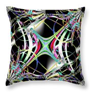 Lighting Supply Fractal Throw Pillow