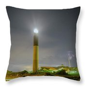 Lighting The Storm Throw Pillow