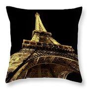 Lighting The World Of Paris Throw Pillow
