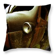 Lightly Rusted Throw Pillow
