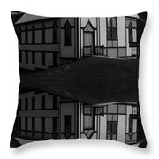 Lightning Above And Below Throw Pillow