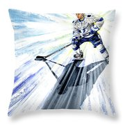 Lightning And Shadow Throw Pillow