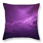 Lightning Totalitty 001 Throw Pillow