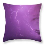Lightning Totalitty 002 Throw Pillow