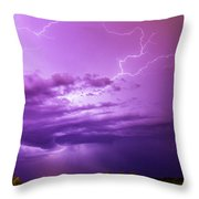 Lightning Totalitty 004 Throw Pillow