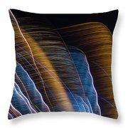 Lightpainting II Throw Pillow