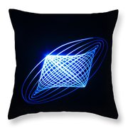 Lightpainting Throw Pillow