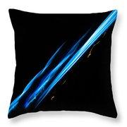 Electric Neon Three Throw Pillow