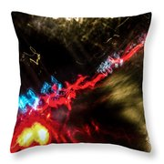 Blurred Ladder Throw Pillow