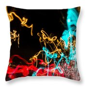 Car Dance Throw Pillow