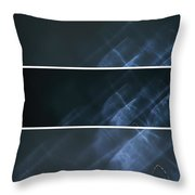 Ghost Smoke Throw Pillow