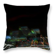 Lights Abstract01 Throw Pillow