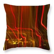 Lights Abstract02 Throw Pillow