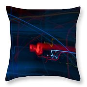Lights Abstract03 Throw Pillow