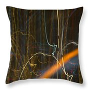 Lights Abstract04 Throw Pillow