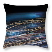 Lights Abstract06 Throw Pillow