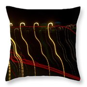Lights Abstract07 Throw Pillow