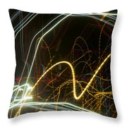 Lights Abstract2 Throw Pillow