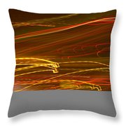 Lights Abstract4 Throw Pillow
