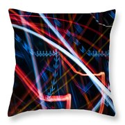 Lights Abstract6 Throw Pillow