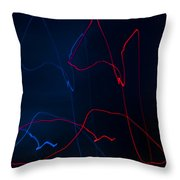 Lights Abstract9 Throw Pillow