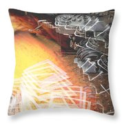 Lights Camera Inaction Ftg0006 Throw Pillow