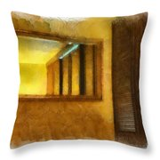 Lights Early Reflection Throw Pillow